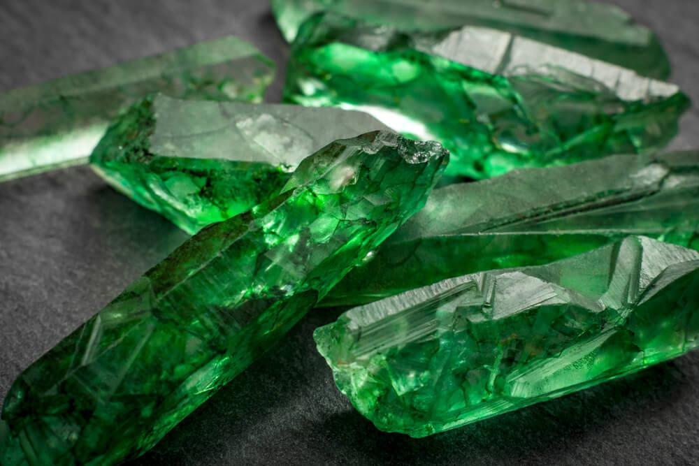 szmaragd - zielony kamień